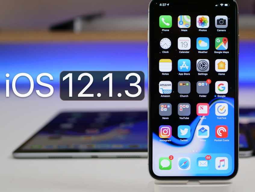 download ios 12.1.3