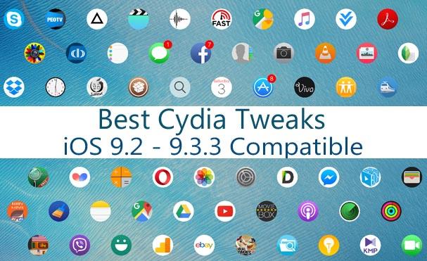 cydia tweaks ios 9.3.3