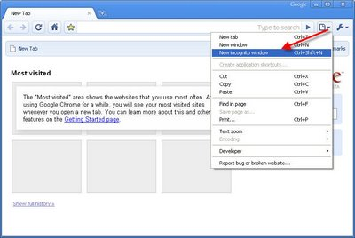 How to use Google chrome for private browsing? - loonystuff info