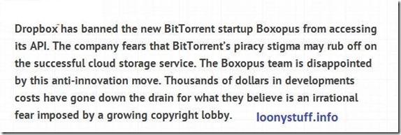 dropbox to torrents