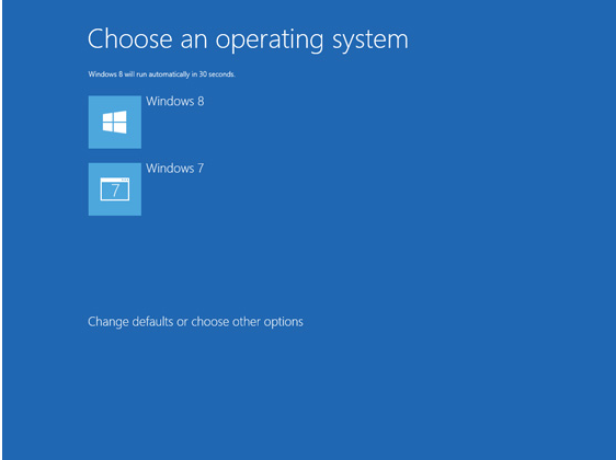 Dual boot windows 7 and windows 8