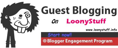 Write for LoonyStuff | Guest blogging - LoonyStuff
