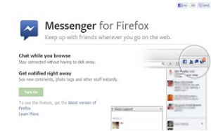 Facebook Messenger for Firefox
